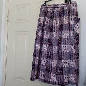 Modcloth Tea Length Special Occasion Skirt